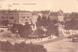 Seltene ALTE  AK   MÜNCHEN / Bayern  - Sedlingertorplatz -  Gelaufen 1930 - München