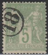 """JOUR De L'AN"" N° 18 S/ SAGE - 1877-1920: Semi Modern Period"