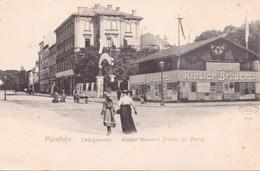 Seltene ALTE  AK   MÜNCHEN / Bayern  -  Liebigstrasse  -  Ca. 1900 - München