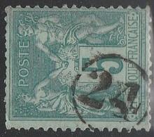 """JOUR De L'AN"" N° 24 S/ SAGE - 1877-1920: Semi Modern Period"