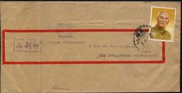 REPUBLIQUE DE CHINE - ROC - YANGMEI / 1967 LETTRE POUR LA FRANCE (ref 430) - Briefe U. Dokumente