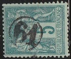 """JOUR De L'AN"" N° 61 S/ SAGE - 1877-1920: Semi Modern Period"