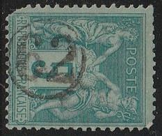 """JOUR De L'AN"" N° 62 S/ SAGE - 1877-1920: Semi Modern Period"