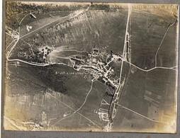 PHOTO Photographie Aérienne Guerre 1914-1918 BILLY LES COTES Cliché  Militaria Aviation Militaire - Guerre, Militaire