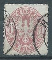 Prusse YT N°17 Armoiries Oblitéré ° - Prusse