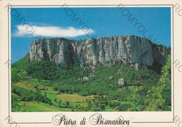 "CARTOLINA CASTELNOVO NE""MONTI, REGGIO EMILIA,PIETRA  DI BISMANTOVA M.1047 ,BISMANTOVA STONE-ALT M.1047, VIAGGIATA 1992 - Reggio Nell'Emilia"