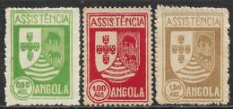Angola – 1939 Assistência Mint Set - Angola