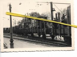 91 006 BRETIGNY S ORGE  GARE SOLDATS ALLEMANDS 1941 DEPART SANS DOUTE POUR LE FRONT DE  RUSSIE - Bretigny Sur Orge