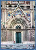 °°° Cartolina - Orvieto Il Duomo - Portale Viaggiata (l) °°° - Terni