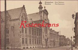 Roeselare Rousselare Klein Seminarie ZELDZAAM Roulers Petit Seminaire (In Zeer Goede Staat) - Roeselare