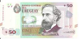 URUGUAY 50 PESOS 2015 UNC P 94 - Uruguay