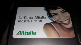 Telecom Italia - Alitalia - Euro 5.00 - 31/12/2004 - Öff. Werbe-TK