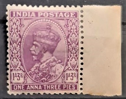 INDIA 1932 - MLH - Sc# 136 - 1a3p - 1911-35 King George V