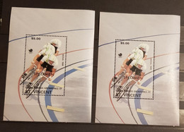 UNION ISLANDS GRENADINES OF ST.VINCENT OLYMPIAD 1988 SEOUL 2 BLOCKS SPECIMEN PERFORED MNH - Summer 1988: Seoul