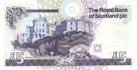 SCOTLAND P. 364 5 P 2005 UNC - 5 Pounds