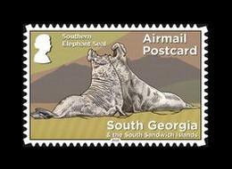 South Georgia 2020 Mih. 767 Definitive Issue. Fauna And Sights. Southern Elephant Seals (self-adhesive) MNH ** - Georgias Del Sur (Islas)