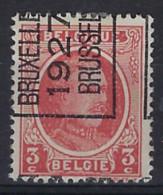 KANTDRUK HOUYOUX Nr. 192 België Typografische Voorafstempeling Nr. 150 E Positie A  BRUXELLES  1927  BRUSSEL  ! - Typo Precancels 1922-31 (Houyoux)