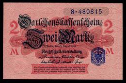 Pick 55 Ro 52d DEU-188   2 Mark 1914 UNC ! - Andere