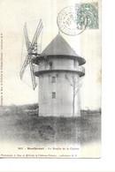 THEMES  /  MOULINS A VENT /   N 2821   MONTFERMEIL   LE MOULIN DE LA GALETTE    GROS PLAN   DEPT 93 - Mulini A Vento