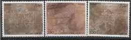 1987 ALGERIE 892-94** Prehistoire, Rupestre - Argelia (1962-...)