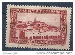 1936-37 ALGERIE 119** Ghardaia - Neufs
