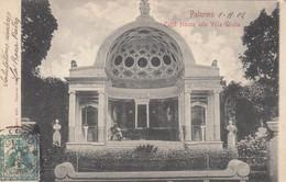 PALERMO-CAFFÉ HOUSE ALLA VILLA GIULIA-CARTOLINA  VIAGGIATA IL 1-11-1902 - Palermo