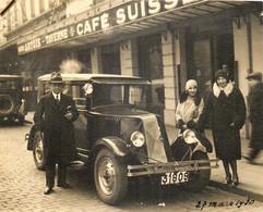 Belgique - Photo - Anvers - Voiture Renault Devant Le ' Café Suisse' BIERE ARTOIS - Oud (voor 1900)