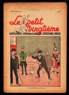Hergé - Tintin -Le Petit Vingtième N° 15 Du 13/04/1939 - E.O. - TINTIN  EN  SYLDAVIE - Kuifje