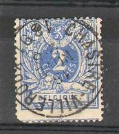 Belgique - N° 27 -  Oblitération :  CHASTRE-VILLEROUX - 1869-1888 Lying Lion