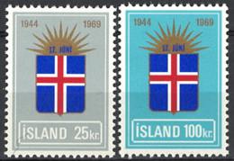 Iceland Island 1969. Mi.Nr. 430-431, Postfrisch **, MNH - Ungebraucht