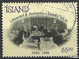 Iceland Island 1996. Mi.Nr. 854, Used O - Gebraucht