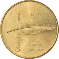 Monnaie, Slovénie, 5 Tolarjev, 1994, FDC, Nickel-brass, KM:16 - Slowenien