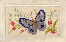 Fantaisie Brodée : Ne M'oublie Pas ( Papillon ) - Bordados