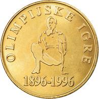 Monnaie, Slovénie, 5 Tolarjev, 1996, SPL+, Nickel-brass, KM:33 - Slowenien