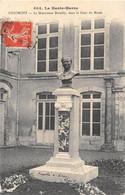 1912 CHAUMONT Le Monument DUTAILLY, Dans La Cour Du Musée - Chaumont