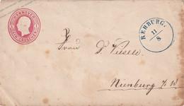 HANNOVER   ENTIER POSTAL/GANZSACHE/POSTAL STATIONARY LETTRE DE REHBURG - Ganzsachen
