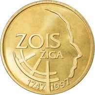 Monnaie, Slovénie, 5 Tolarjev, 1997, SPL+, Nickel-brass, KM:38 - Eslovenia
