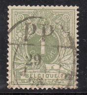 N° 28 OBLITERATION  CACHET POUR IMPRIME AVEC  PP DANS LE DESSUS - 1869-1888 Leone Coricato