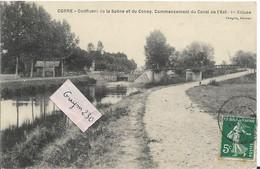 CORRE  Confluent De La Sâône Et Du Coney - Commencement Du Canal De L'Est - Andere Gemeenten