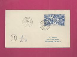 Lettre Recommandée De 1946 Pour Les EUAN - YT N° PA 54 - Anniversaire De La Victoire - Storia Postale
