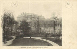 Pensionnat De Passy Salle Des Fetes Vue Du Parc Recto Verso - Arrondissement: 16