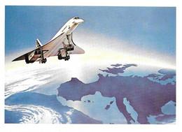 CONCORDE  Air France - L'avion Commercial Le Plus Rapide Du Monde - Ed. Club Aérophilatélique Concorde - Zonder Classificatie