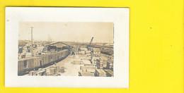 Carte Photo De Gare De Marchandises à Identifier - A Identificar