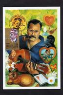 Brassens Georges ; Sur Carte Maximum De 1990 - Cantanti E Musicisti
