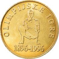 Monnaie, Slovénie, 5 Tolarjev, 1996, FDC, Nickel-brass, KM:33 - Eslovenia
