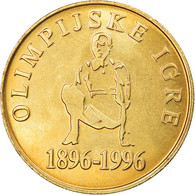 Monnaie, Slovénie, 5 Tolarjev, 1996, FDC, Nickel-brass, KM:33 - Slowenien
