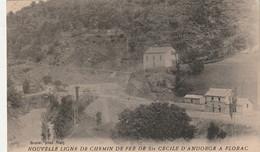 Nouvelle Ligne De Chemin De Fer Ste Cecile D'Angorge A Florac- Gare St Julien D'arpon - - Sonstige Gemeinden