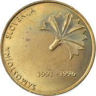 Monnaie, Slovénie, 5 Tolarjev, 1996, SPL+, Nickel-brass, KM:32 - Slowenien