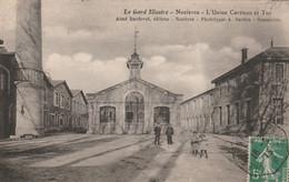30/ Le Gard Illustré - Nozières - L'usine Carénou Et Tur - (vue D'ensemble , Trés Beau Plan ) Edition Bardou - Sonstige Gemeinden