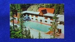 The Miette Hot Springs Pool In Jasper National Park Canada - Jasper